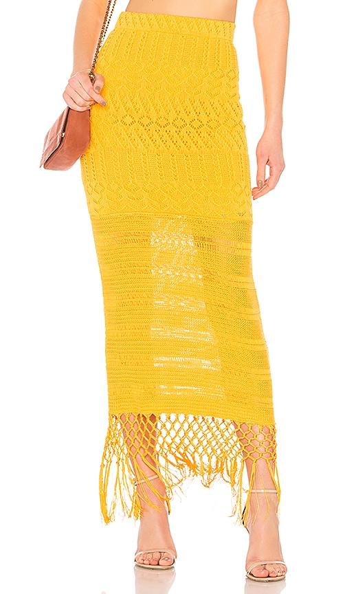House of Harlow 1960 x REVOLVE Sandra Skirt in Yellow