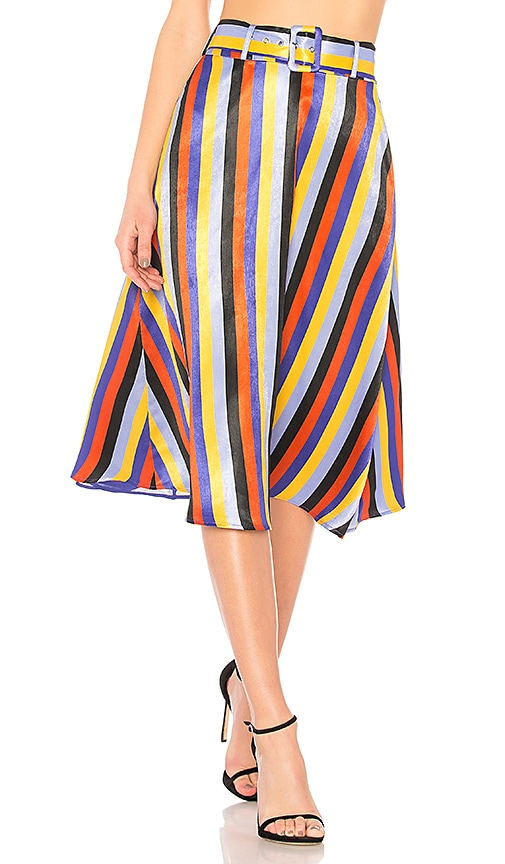 x REVOLVE Jules Skirt in Red. - size S (also in L,M,XL,XS,XXS) House Of Harlow