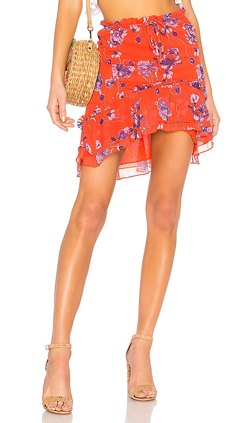House of Harlow 1960 x REVOLVE Ariani Skirt in Red