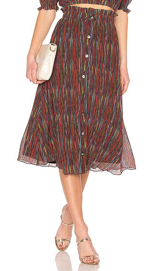 X REVOLVE Carmella Midi Skirt