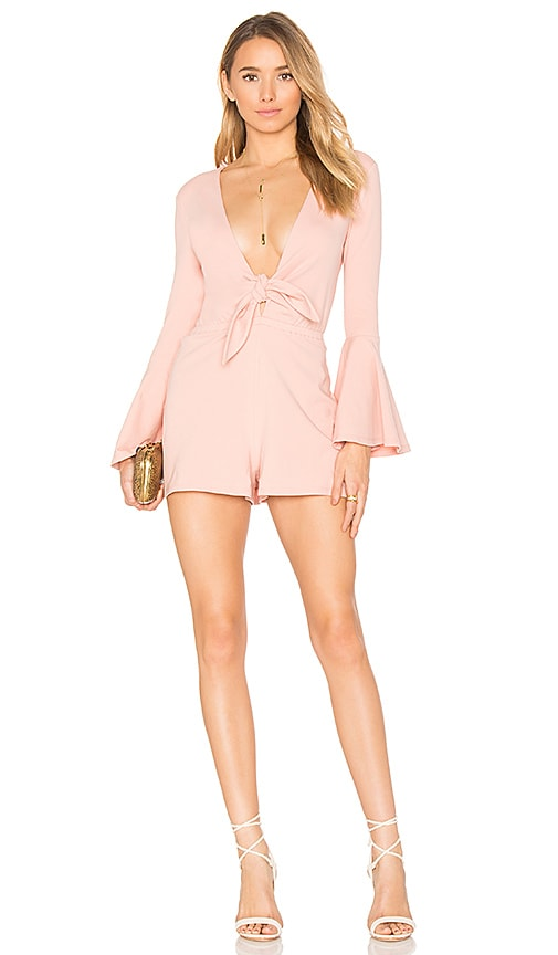 House of Harlow 1960 x REVOLVE Lennox Romper in Pink