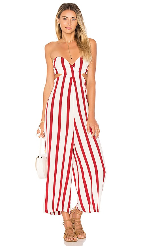 House of Harlow 1960 x REVOLVE Joelle Jumpsuit in Carmine for sale