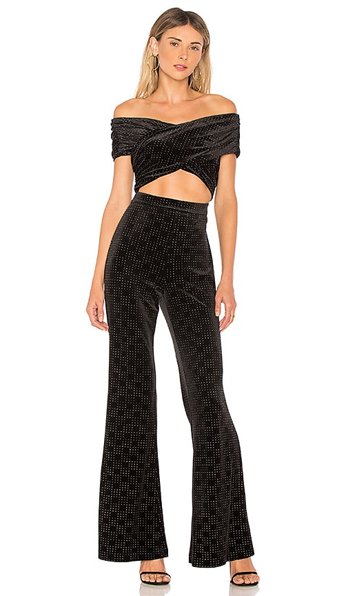 x REVOLVE Indigo Pant in Black. - size M (also in S,XL,XS) House Of Harlow