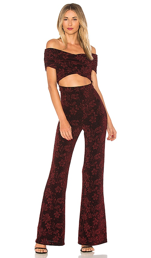 House of Harlow 1960 x REVOLVE Lynette Jumpsuit in Red