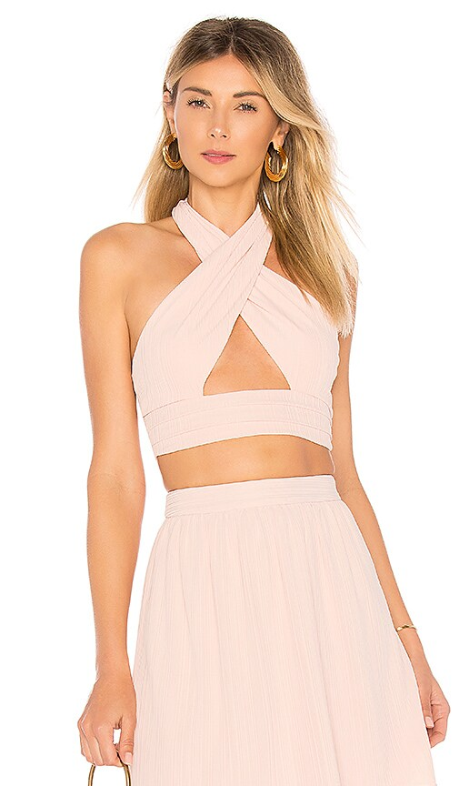 House of Harlow 1960 x REVOLVE Jules Top in Rose