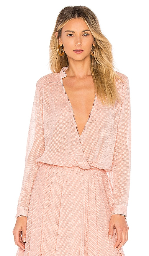 House of Harlow 1960 x REVOLVE Joli Blouse in Pink