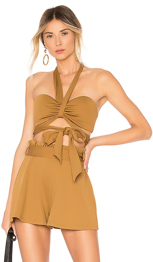 House of Harlow 1960 x REVOLVE Tammy Top in Toffee supplier UDelKsrF