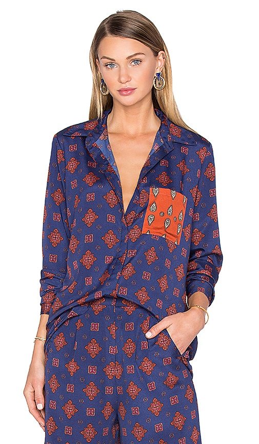 x REVOLVE Cyndee Classic Button Down
