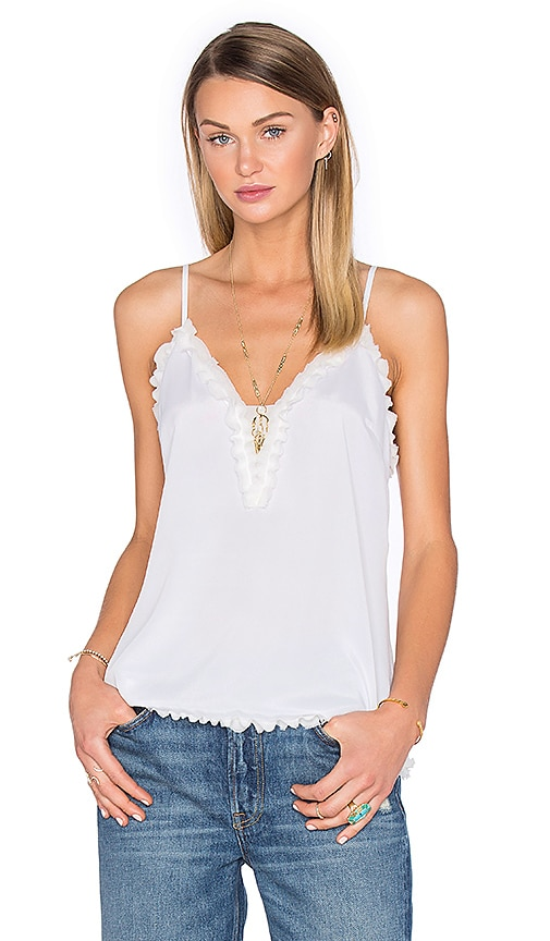 House of Harlow 1960 x REVOLVE Leah Deep V Cami in White