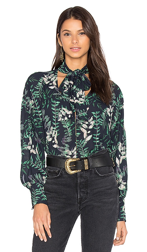 House of Harlow 1960 x REVOLVE Estelle Blouse in Black