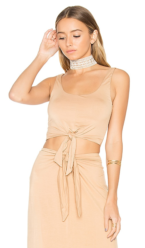 House of Harlow 1960 x REVOLVE Evie Top in Tan