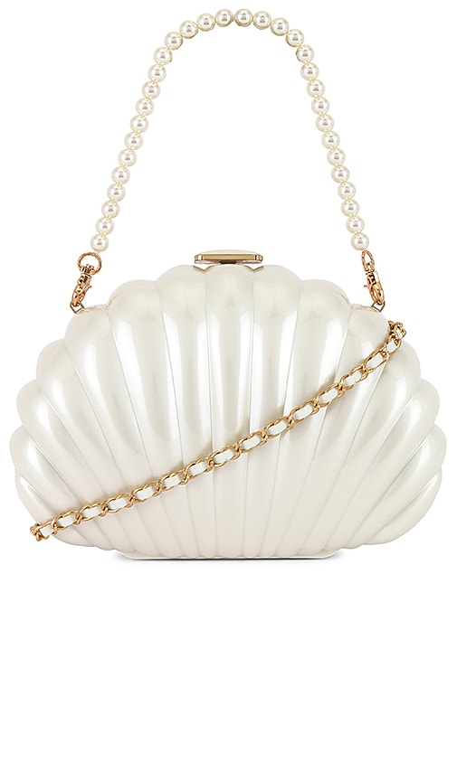 x REVOLVE Clam Shell Clutch
