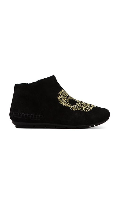 House of Harlow Mara Skull Bootie
