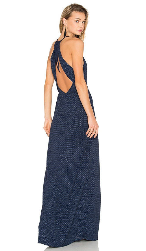 Hoss Intropia Embellished Maxi Dress in Navy