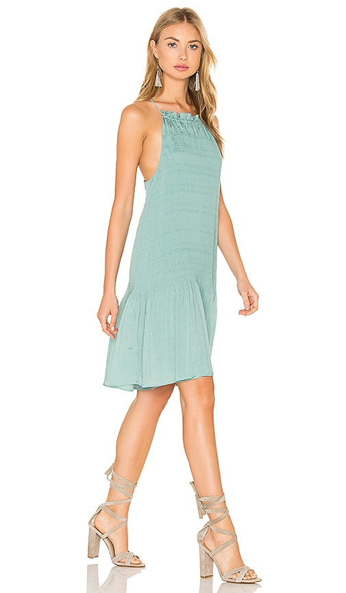 Hoss Intropia Sleeveless Mini Dress in Green