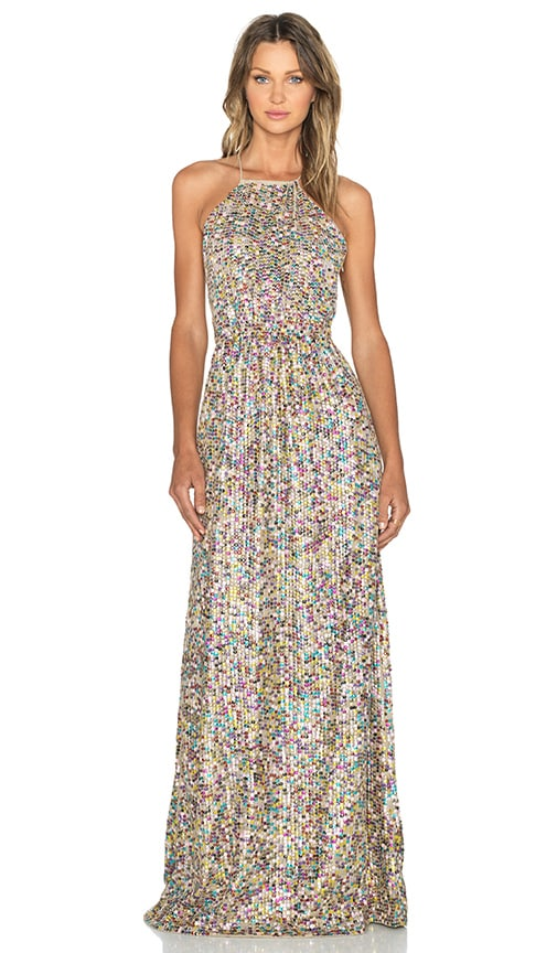 Hoss Intropia Embellished Maxi Dress in Multicolor  REVOLVE