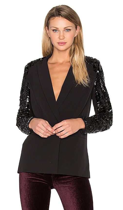 Hoss Intropia Embellished Blazer in Black
