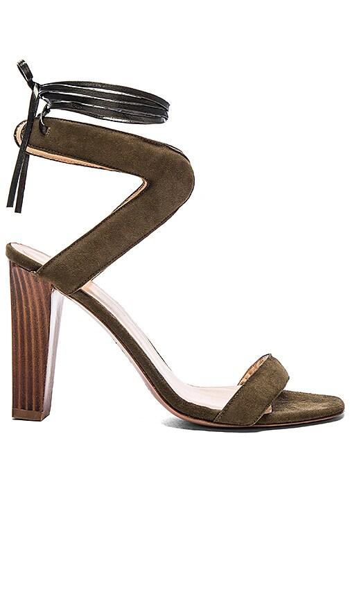 Hoss Intropia Tie Back Heel in Khaki