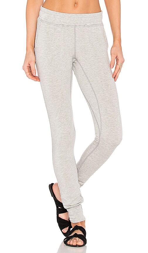 Haute Body Shadow Box Sweatpant in Gray