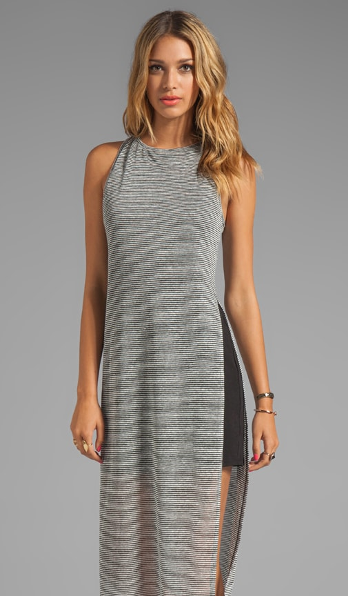 Arancia Keyhole Column Dress