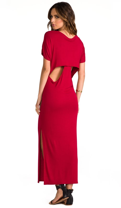 Hidden Racer Maxi Dress