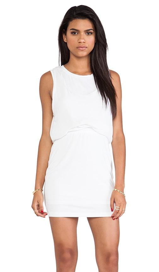 Silk Twist Layer Mini Dress
