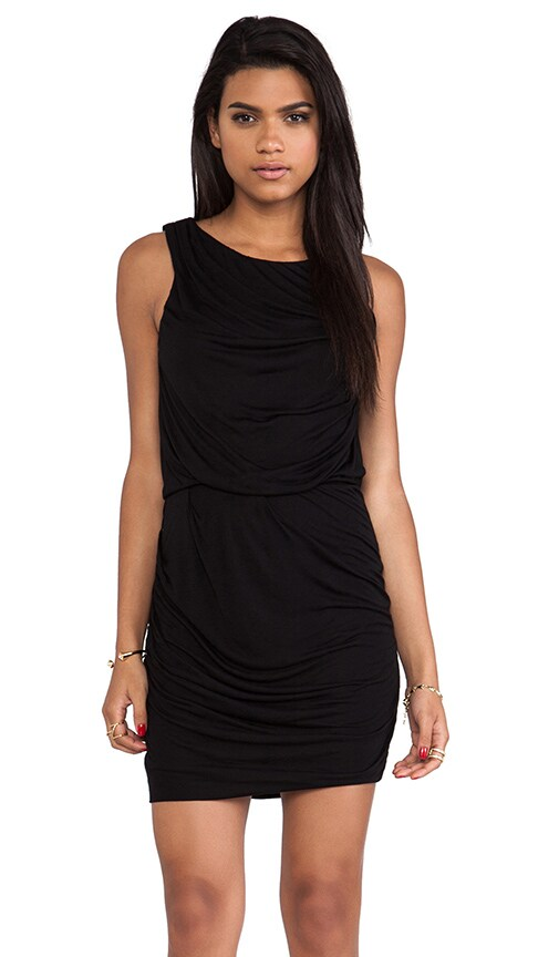 Drape Mini Dress