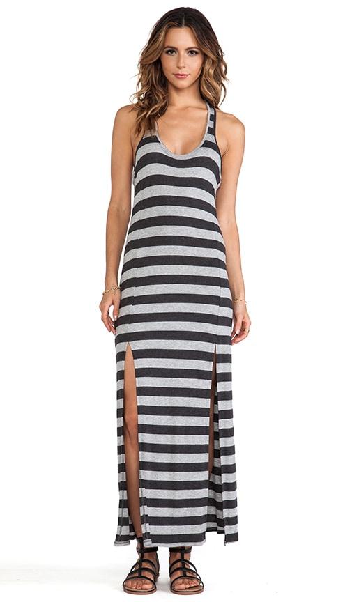 Slit Front Maxi Dress