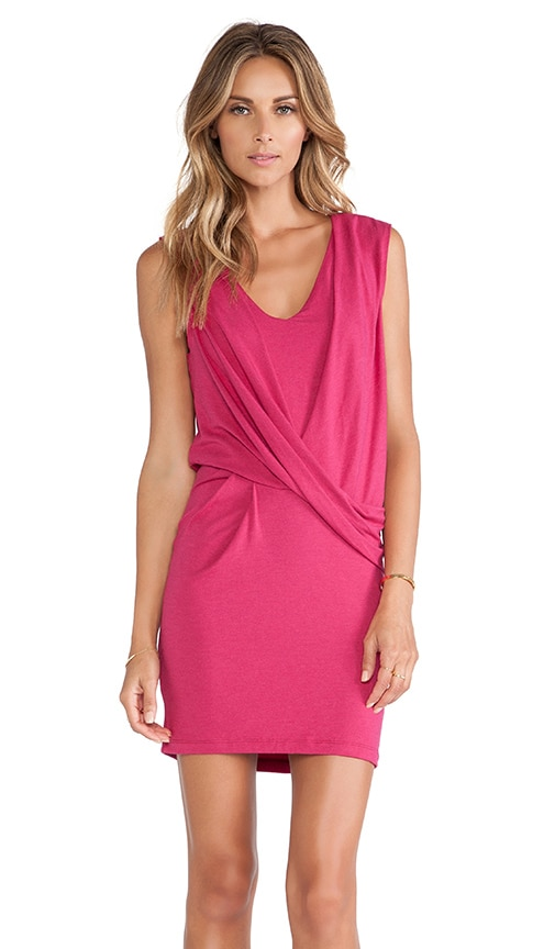 V Neck Tuck Dress