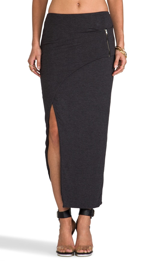 Asymmetrical Zip Skirt