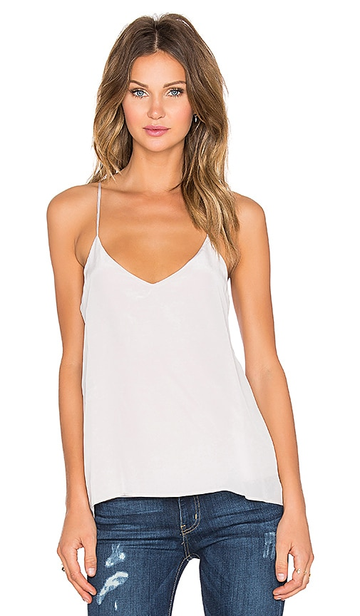 Silk Strappy Back Cami