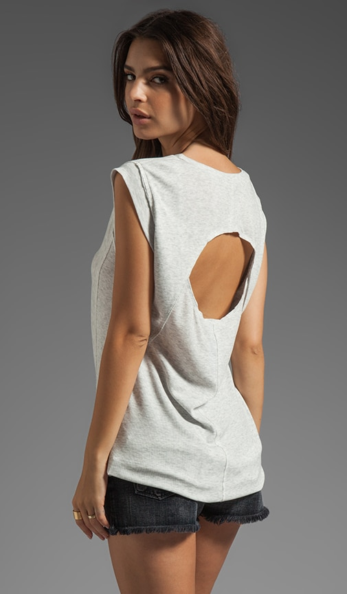 Hi-Lo Open Back Tee