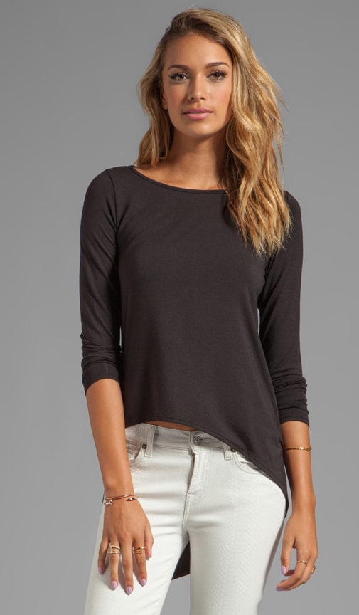 Asymmetric Hi Low Tee