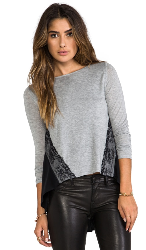 Lace Color BlockTop