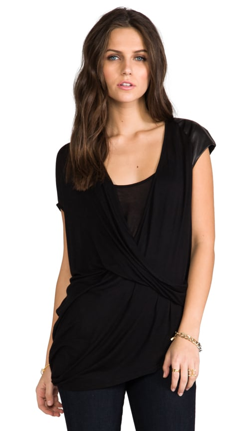 Surplice Tuck Top