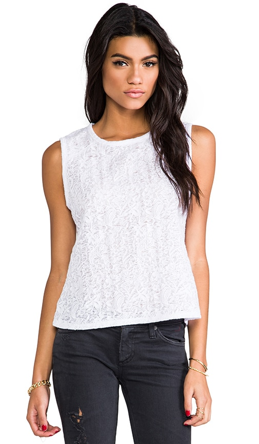 Jacquard Shoulder Tank