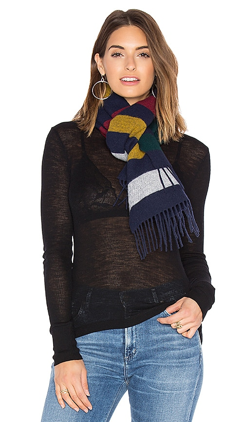 Hudson's Bay Company Scottish Wool Scarf in Blue