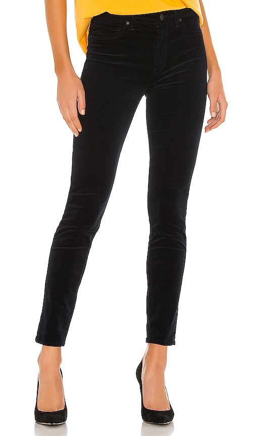 Hudson Jeans Womens Barbara High Rise Super Skinny Jean
