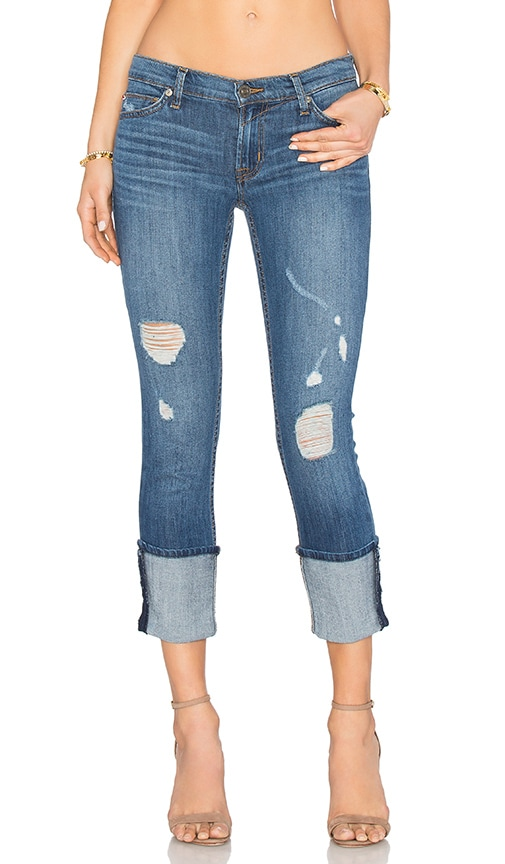Hudson Jeans Muse Crop Skinny in Hustle