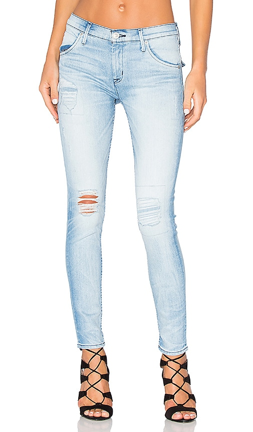 Lilly Mid Rise Ankle Skinny