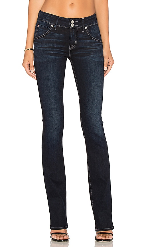 Hudson Jeans Beth Mid Rise Baby Boot In Night Vision Revolve