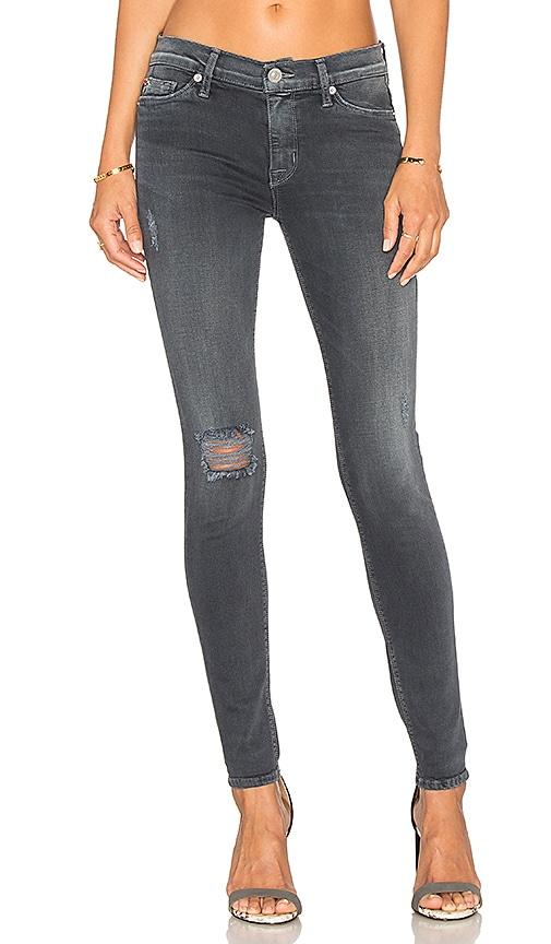 Hudson Jeans Nico Mid Rise Super Skinny in Dark Skies 2