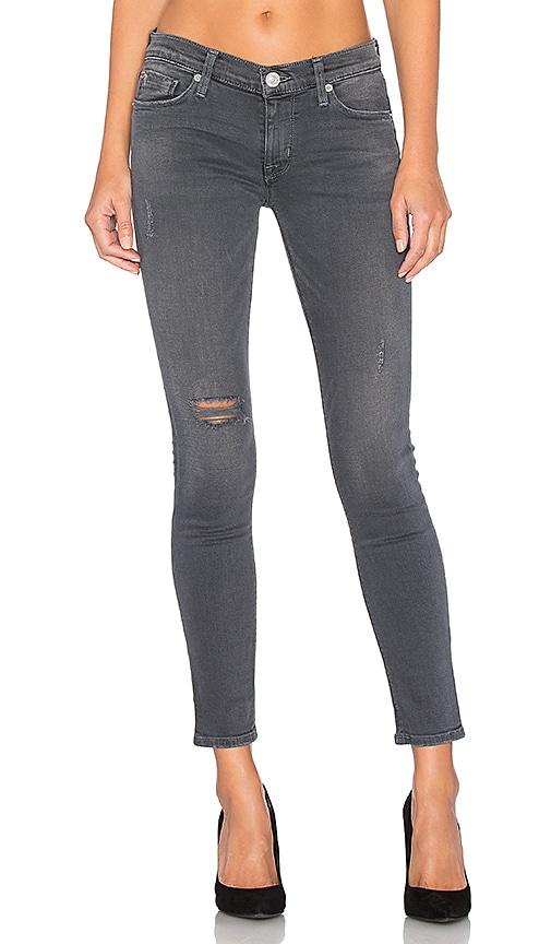 Hudson Jeans Krista Ankle Super Skinny in Stormy Horizon