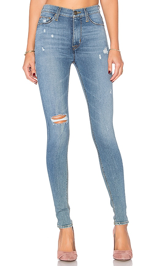 Hudson Jeans Barbara High Waist Skinny in Blue