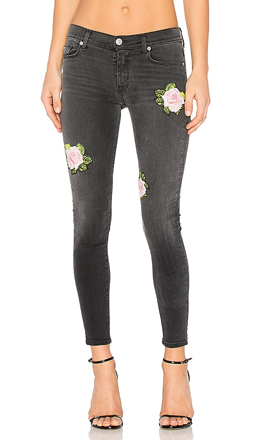 Hudson Jeans Nico Midrise Ankle Skinny in Confronted