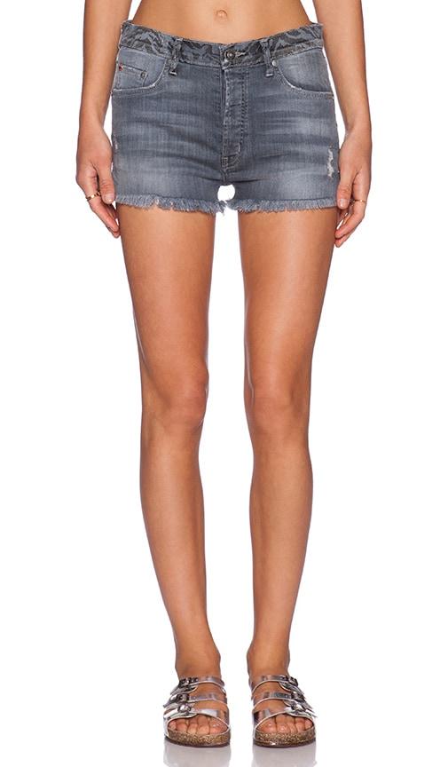 Hudson Jeans Tori Vice Versa Cut Off Short in Twin Coast