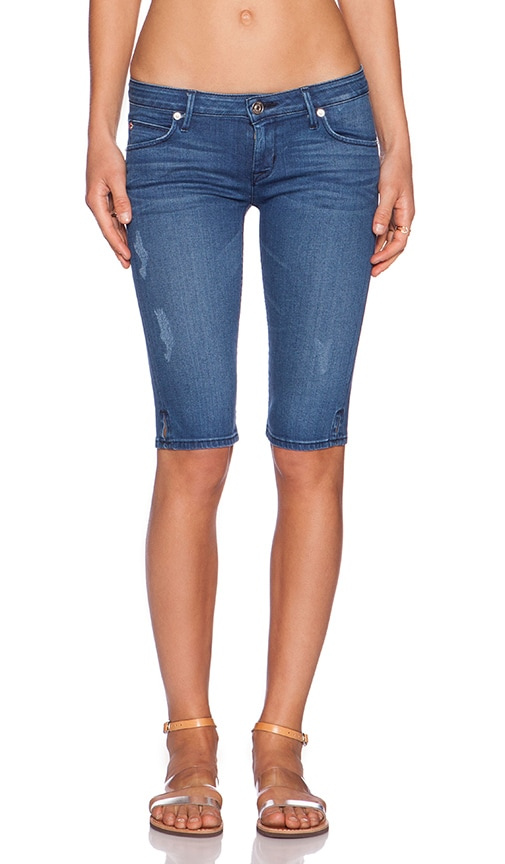 Hudson Jeans Viceroy Knee Short in Angeltown