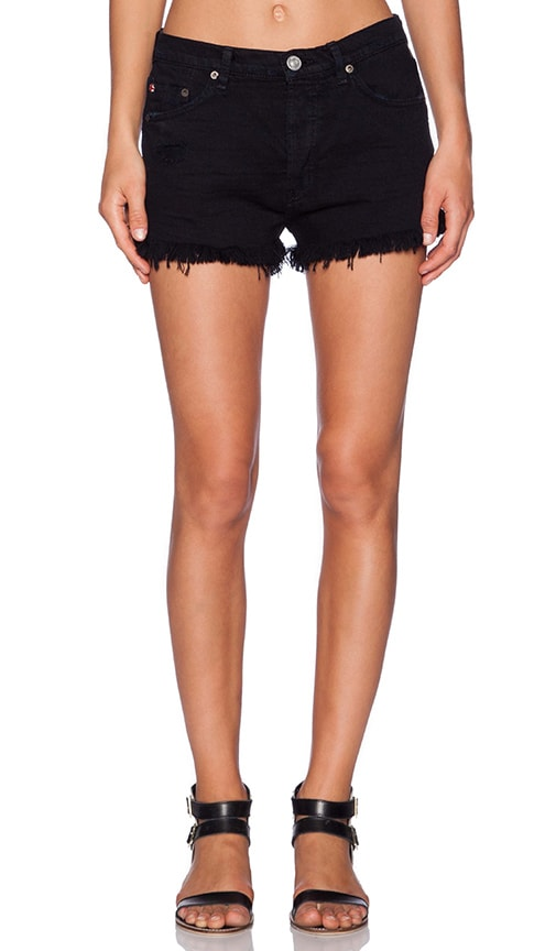 Hudson Jeans Tori Slouch Short in Downtown 2