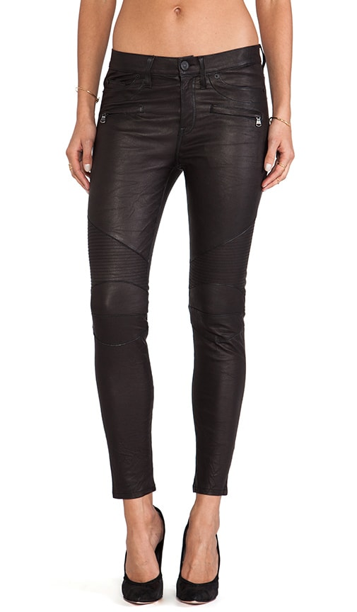 Shelby Leather Moto Super Skinny