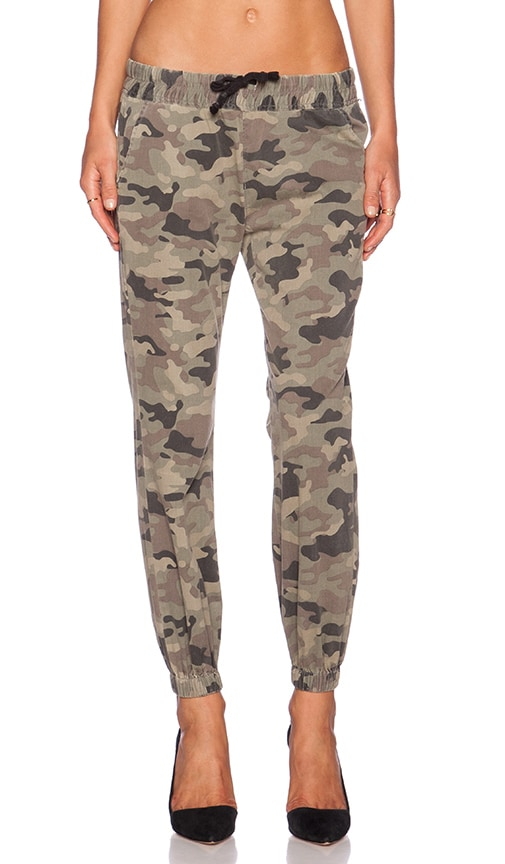 Hudson Jeans Addison Drawstring Pant in Solimar